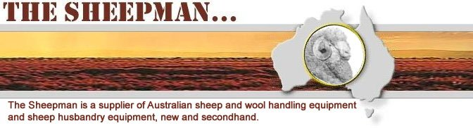 The Sheepman - Wool and Sheep handling equipment suppliers